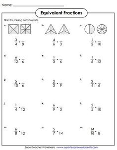 simplest form vs lowest terms  33 Best •fractions in primary grades• images | Fractions ..