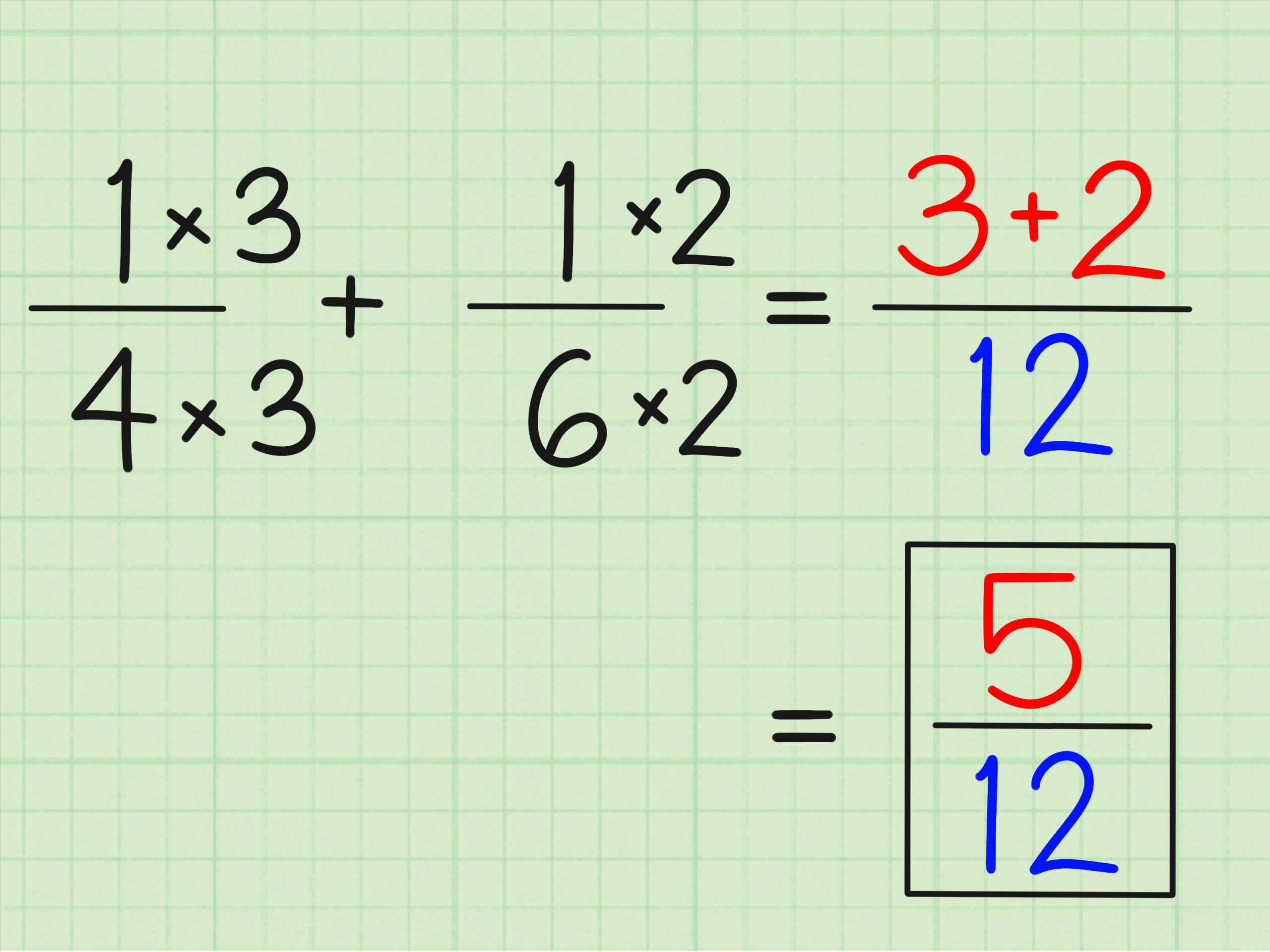 simplest form 2/4  4 Ways to Solve Fraction Questions in Math - wikiHow - simplest form 2/4