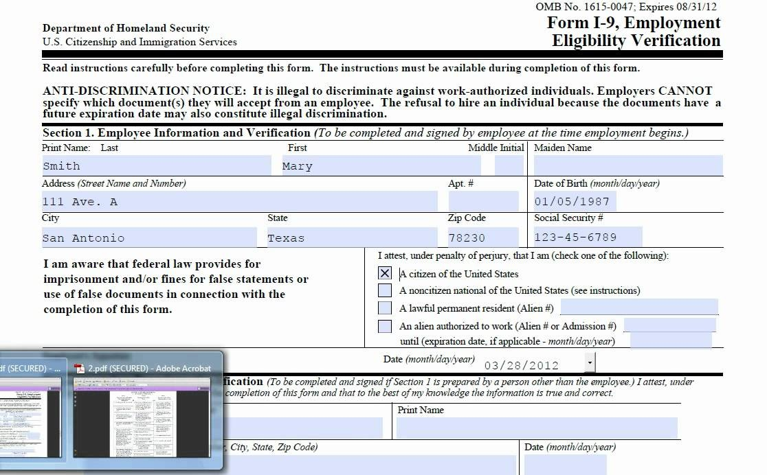 form i-9 receipts  How to Fill Out the I-9 Form - YouTube - form i-9 receipts