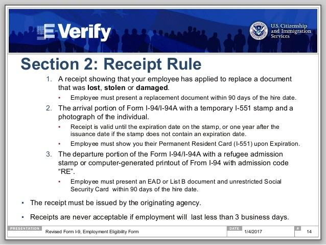 form i-9 receipts  Ready for the New Form I-9? A Step-by-Step Guide to 100% I ..