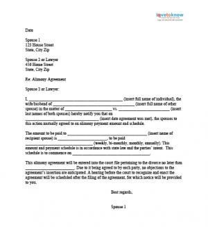 letter template child support agreement without court  Sample Alimony Letters   Lettering, Self help, Child custody - letter template child support agreement without court