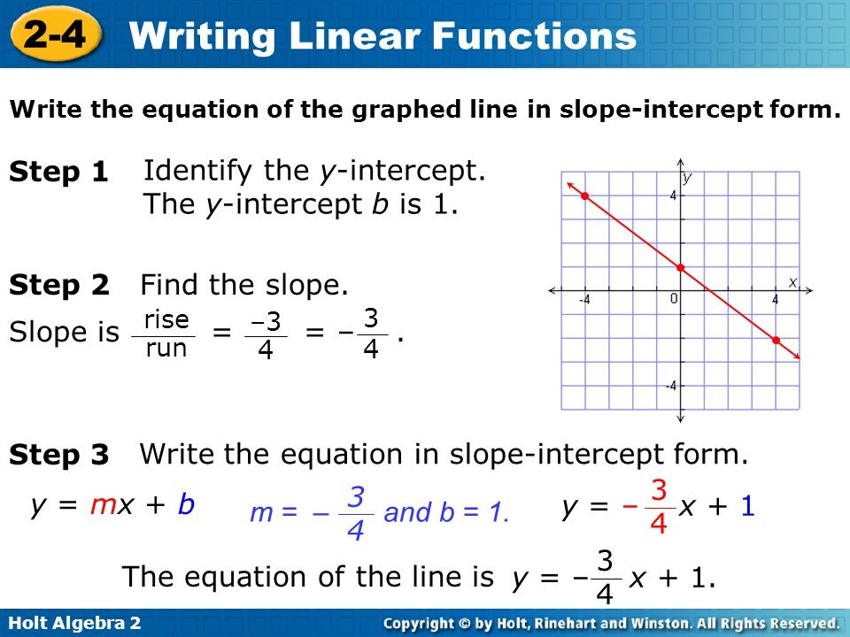 linear function slope intercept form  Slope Intercept Equation Solver - Tessshebaylo - linear function slope intercept form