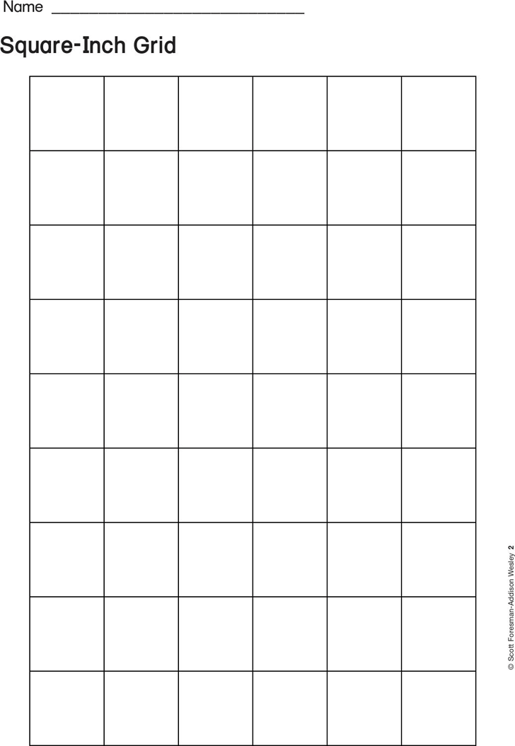 blank calendar template vertical  1 Inch Graph Paper - Template Free Download   Speedy Template - blank calendar template vertical