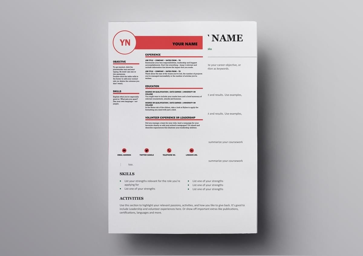 resume template zety  10+ Free Open Office & Libre Office Resume Templates - resume template zety