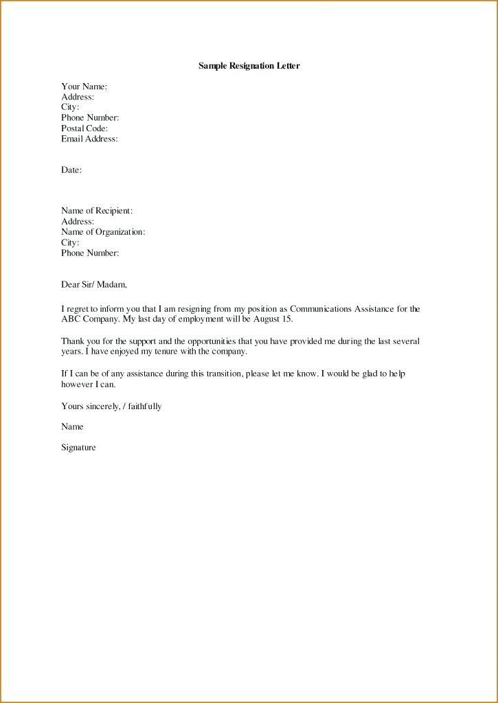 termination letter template ontario  12[-13 resignation letter template ontario | mysafetgloves