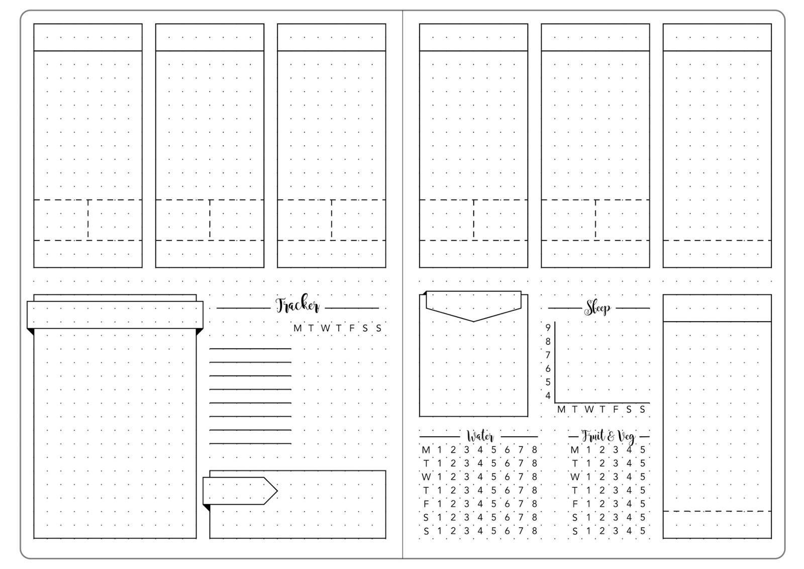 7 habits calendar template  15+ bullet journal vorlagen | car2 go events - 7 habits calendar template
