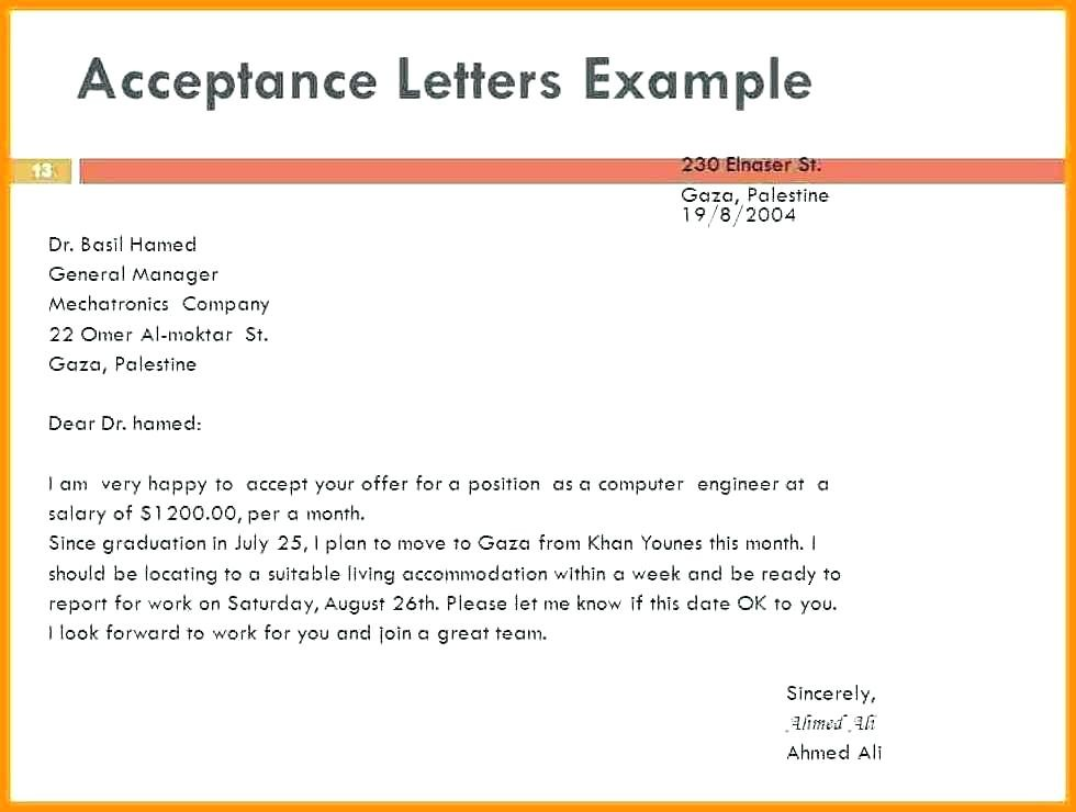 letter template with subject line  15+ job acceptance email | sap appeal - letter template with subject line