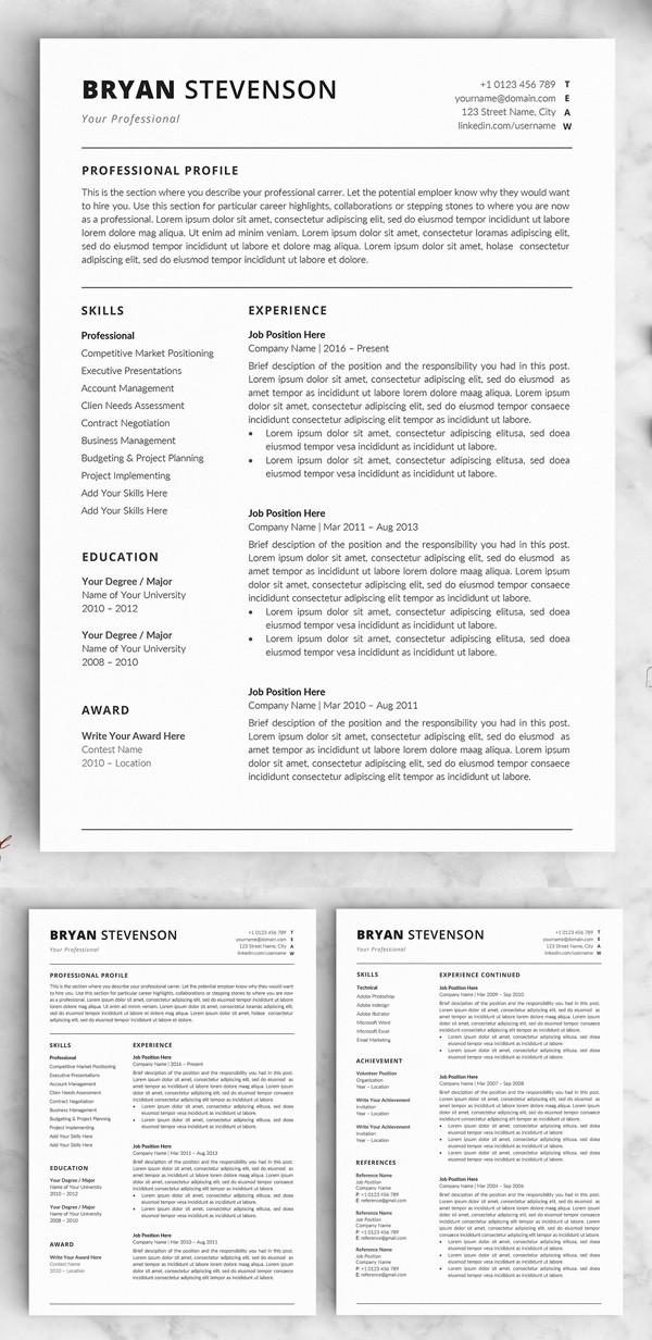 resume template graphic designer  30 Best Word Resume Templates | Design | Graphic Design ..