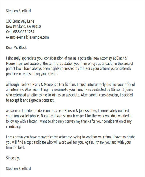letter template sent via email  36+ Simple Offer Letter Templates | Free & Premium Templates - letter template sent via email