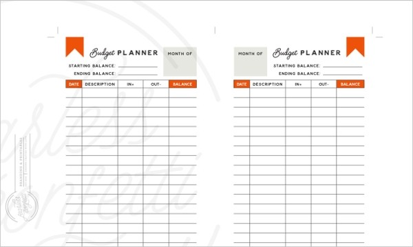 budget template in word  5+ Daily Budget Planner Templates - Free Sample, Example ..