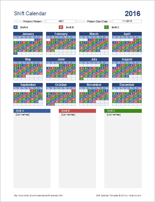 rotating weekend schedule template  70+ Free Schedule & Planner Templates [ Word, Excel ..