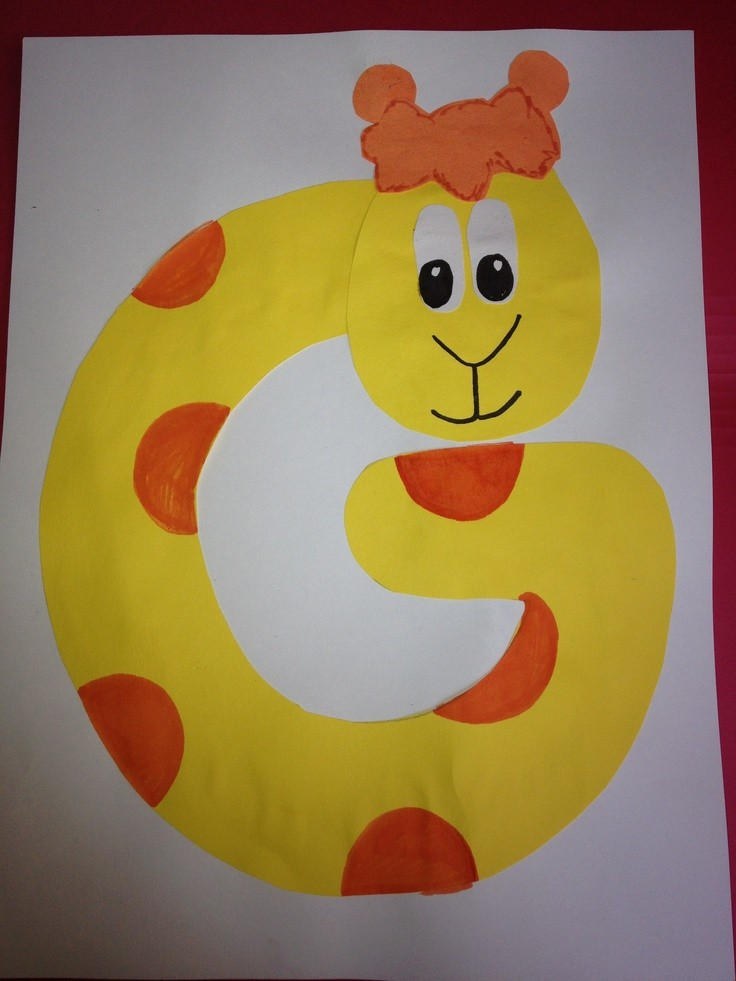 letter g craft template  8 best images about G is for giraffe on Pinterest | Letter ..