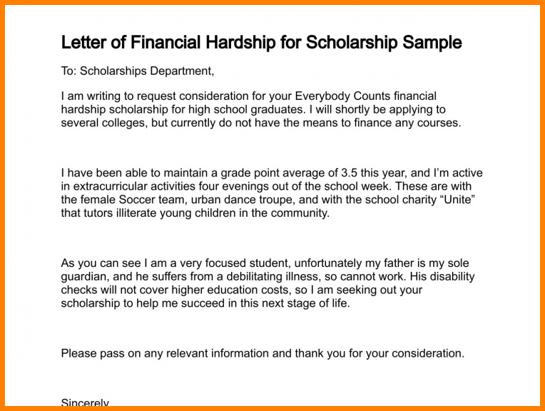 financial hardship letter template  8+ educational leave of absence letter | dragon fire defense - financial hardship letter template