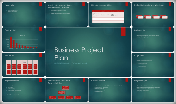 3 letter templates free  8+ Project Plan Examples – Download Free Sample ..