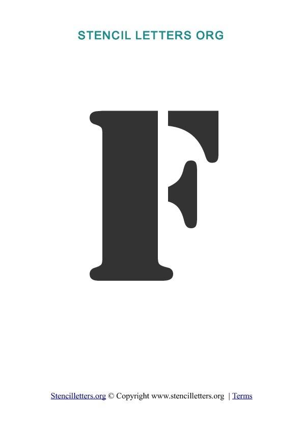 letter q template  A-Z Letters in PDF Stencil Templates - Style 2 | Stencil ..