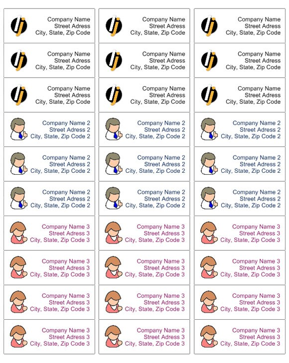 avery address labels template  Address label « Labeljoy | Labels printing Software ..