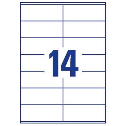 avery template 5162  Avery QuickDRY Inkjet Address Labels 14 per Sheet 99.1 x ..