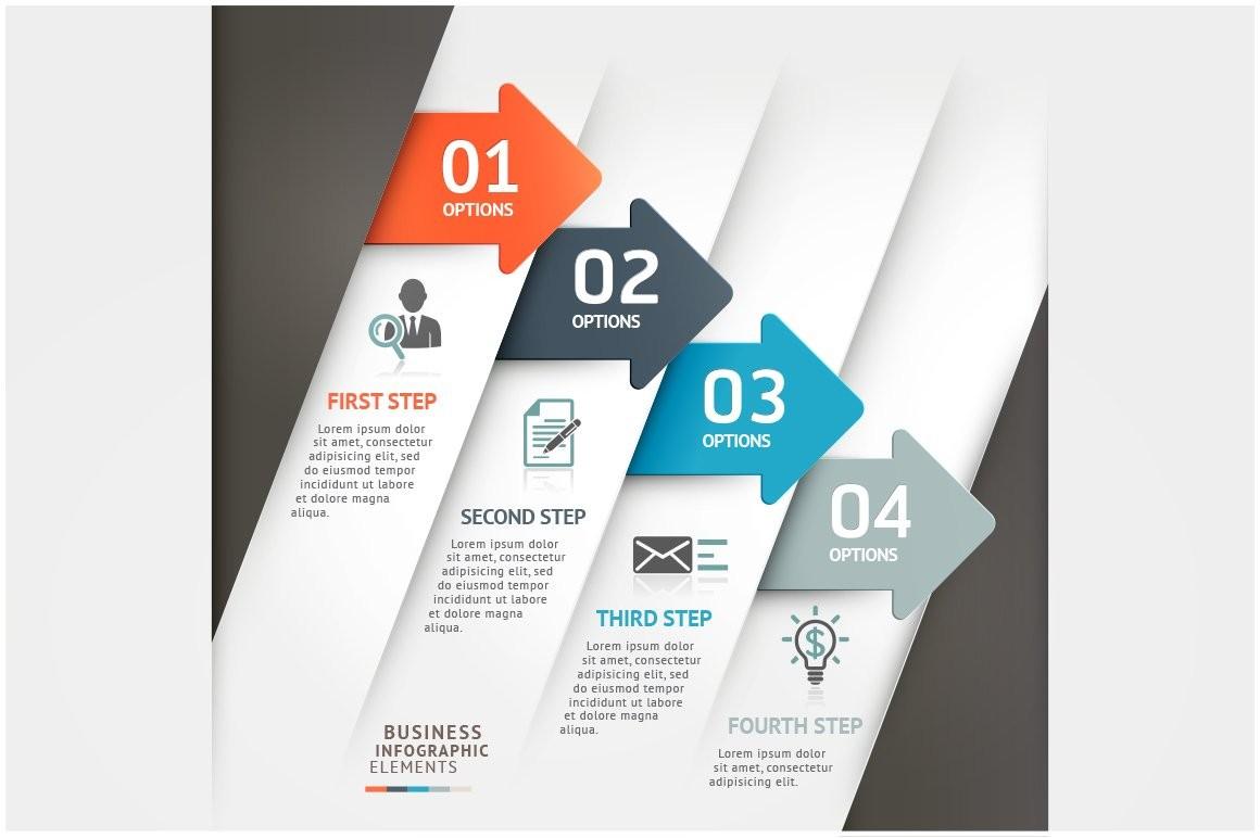 calendar template powerpoint  Business Arrow Infographic Template ~ Other Presentation ..