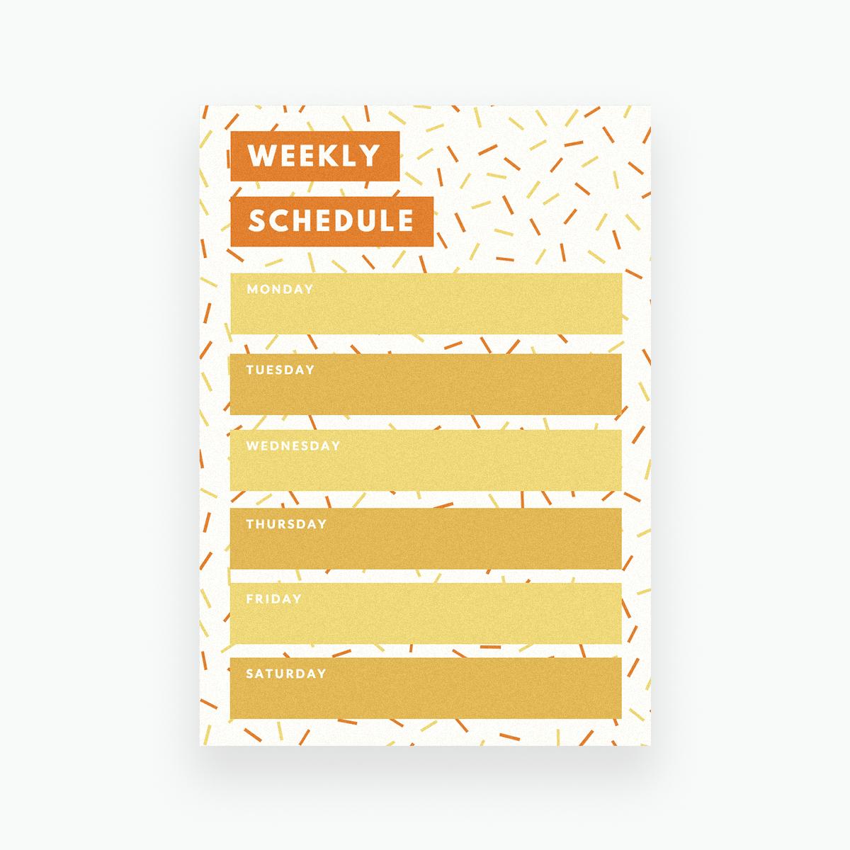 schedule template aesthetic  ออกแบบตารางรายสัปดาห์ ด้วยดีไซน์ของคุณเอง ฟรี | Canva - schedule template aesthetic