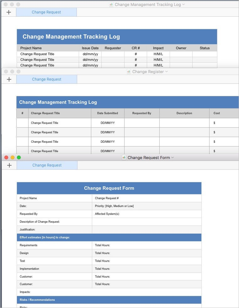 budget template apple numbers  Change Management Plan (Apple iWork Pages/Numbers) - budget template apple numbers