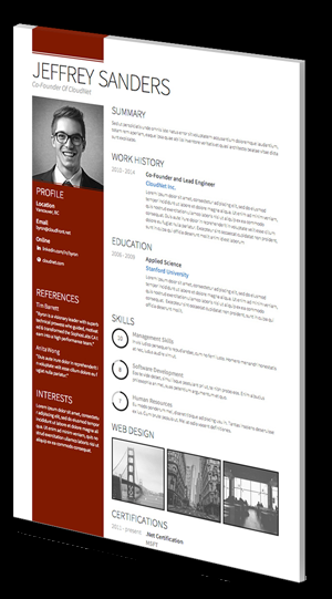 resume template linkedin  CV Templates - Professional Curriculum Vitae Templates - resume template linkedin