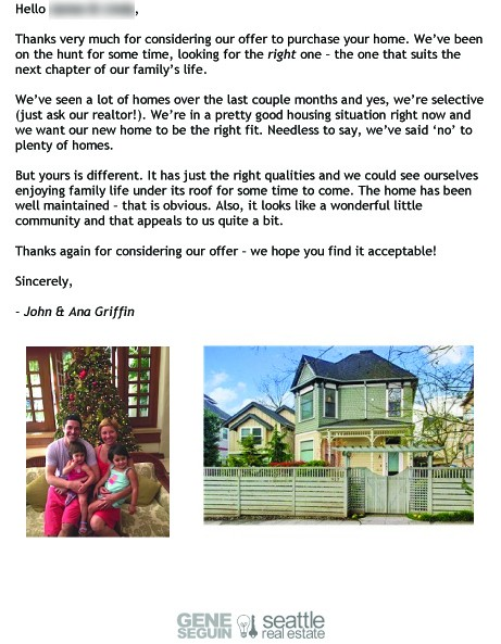 4 h buyer letter template 'Dear seller' letters work for home buyers - seattlepi.com