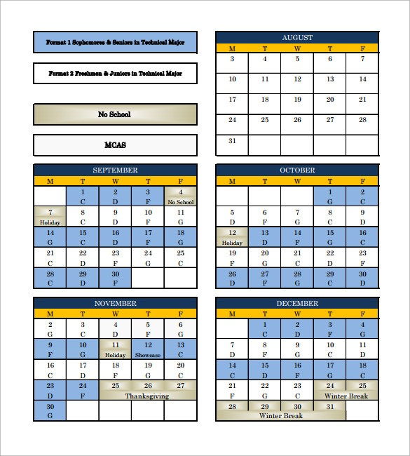 rotating schedule template  FREE 15+ Sample Rotation Schedule Templates in PDF | MS Word - rotating schedule template
