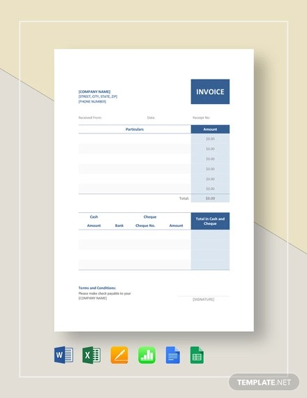budget template google sheets  FREE 8+ Official Receipt Examples & Samples in Google Docs ..