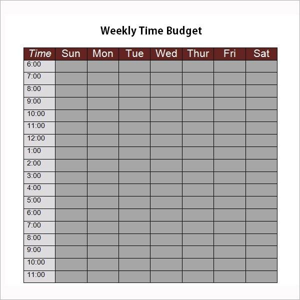 personal budget template bi weekly  FREE 9+ Examples of Bi-Weekly Budget Templates in Google ..