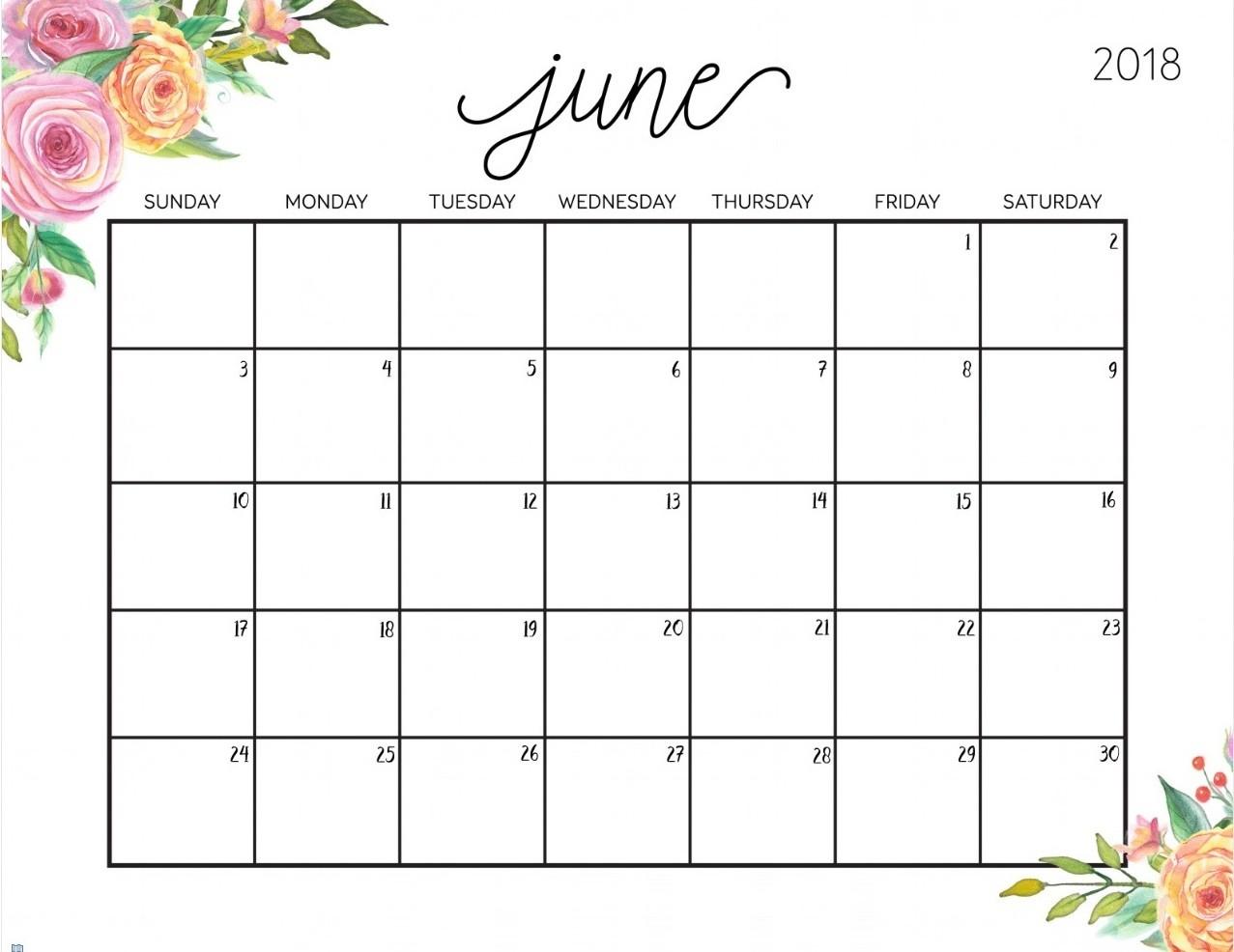 content calendar template google sheets  Free Printable Calendar June 2018 | Printable 2019 ..