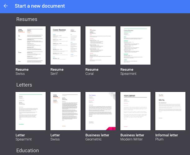 resume template google docs  Google Docs Templates - Fotolip - resume template google docs