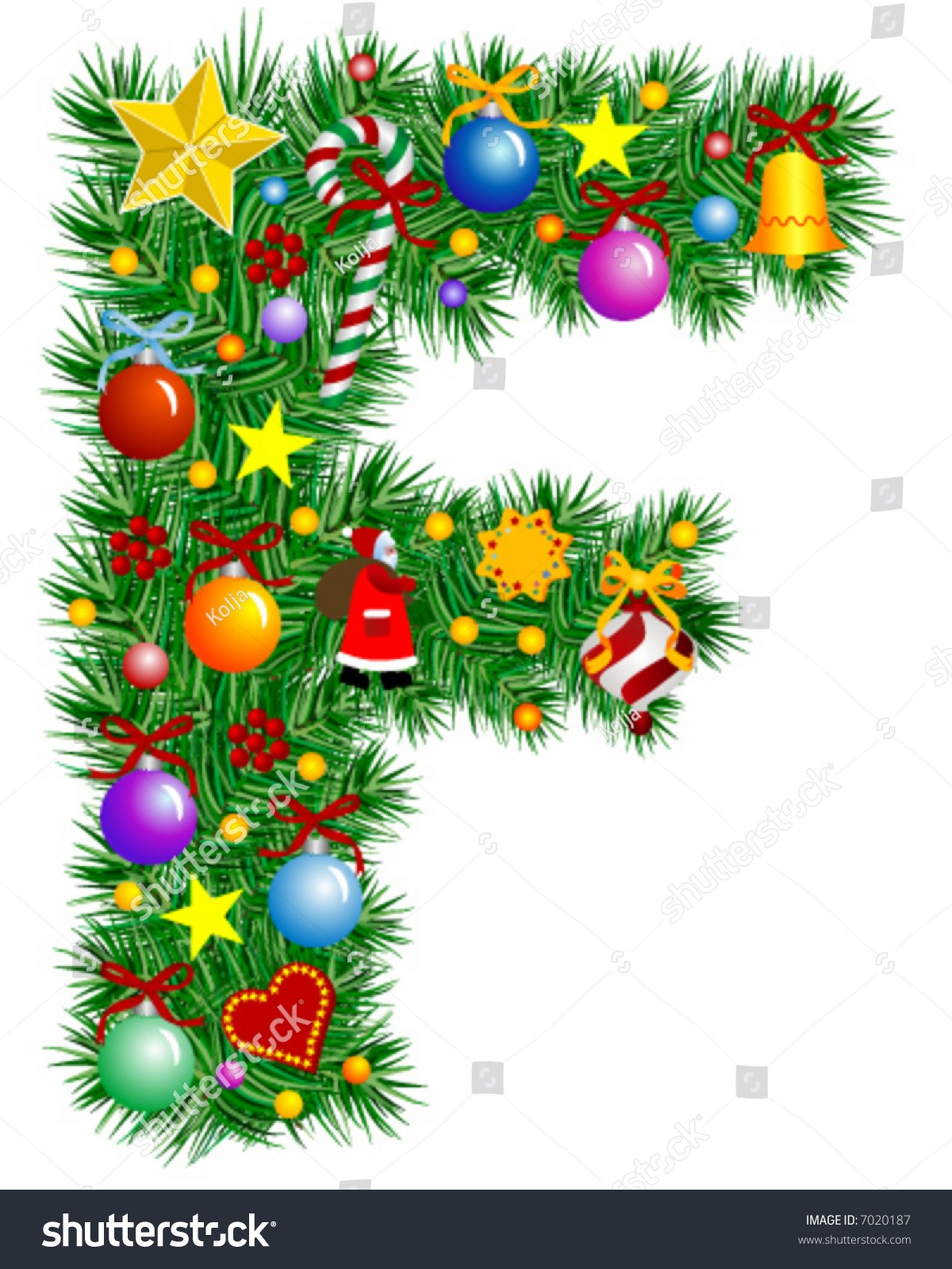capital letter m template