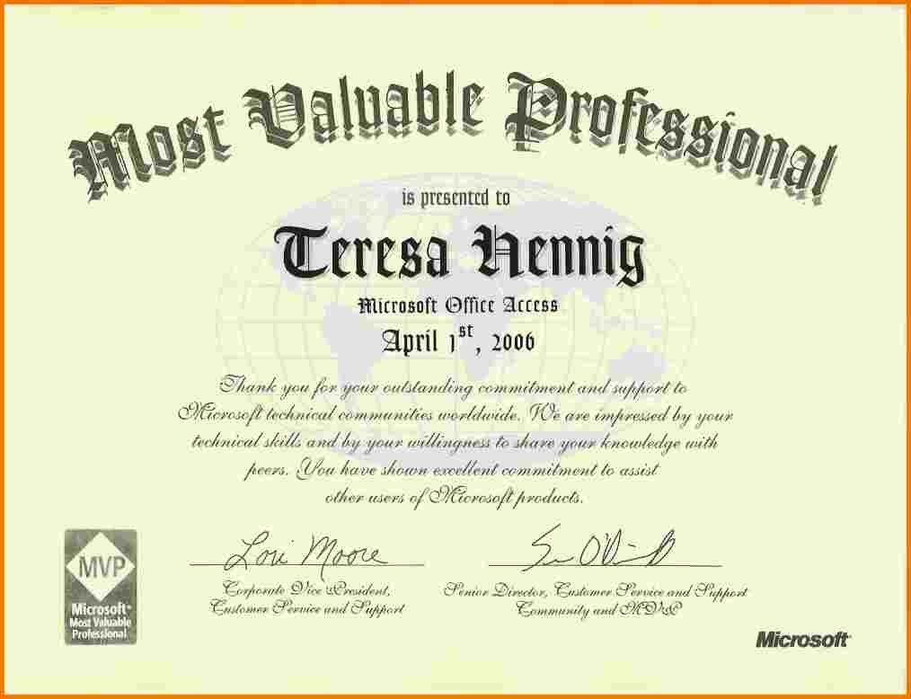 letter template image Mvp certificate | Authorization Letter Pdf