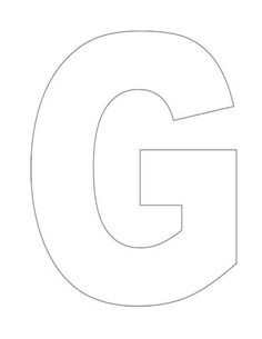 letter g gumball template  No Carve Olaf Pumpkin - Here Come the Girls - letter g gumball template
