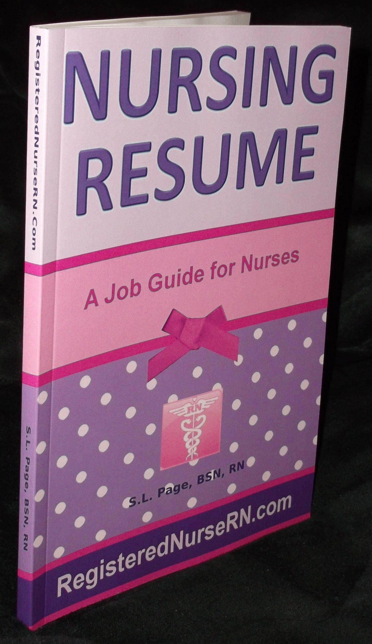 resume template nursing  Nursing Resume Templates: Plus an eBook Job Guide for Nurses - resume template nursing