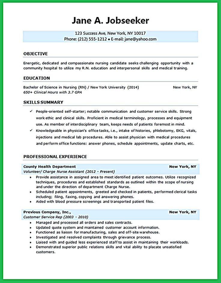 resume template university student