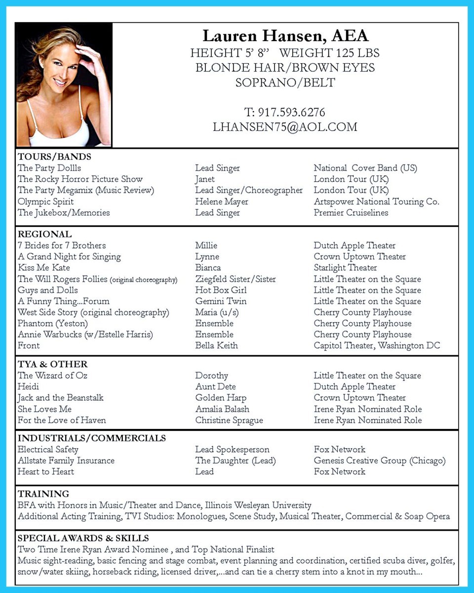 beginners acting resume template no experience learn the truth about beginners acting resume