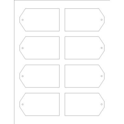avery luggage tag template  Plantillas - Etiquetas Colgantes Imprimibles, 8 por hoja ..