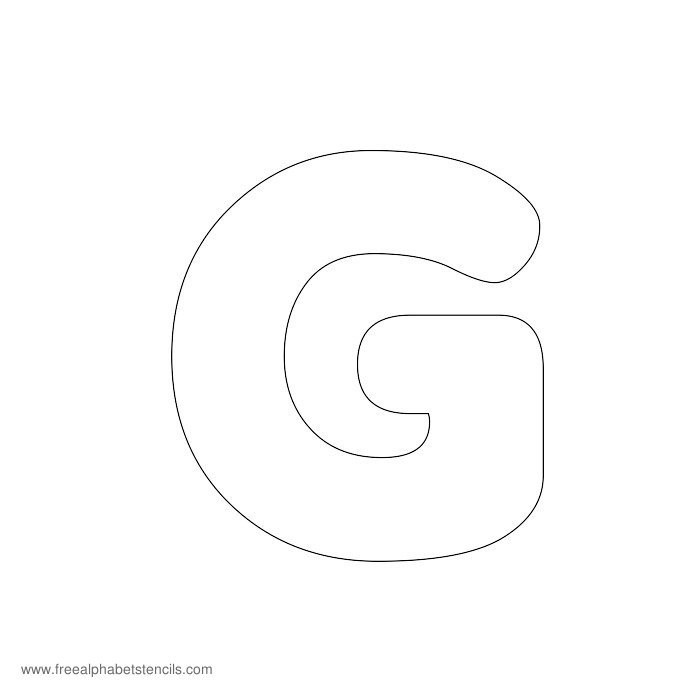 bubble letter e template  Preschool Alphabet Stencils | FreeAlphabetStencils