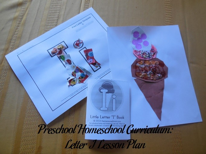 letter g craft template  Preschool Homeschool Curriculum: Letter I Lesson Plan ..
