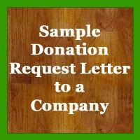 501c3 donation letter template  Sample Donation Request Letter To A Company | Donation ..