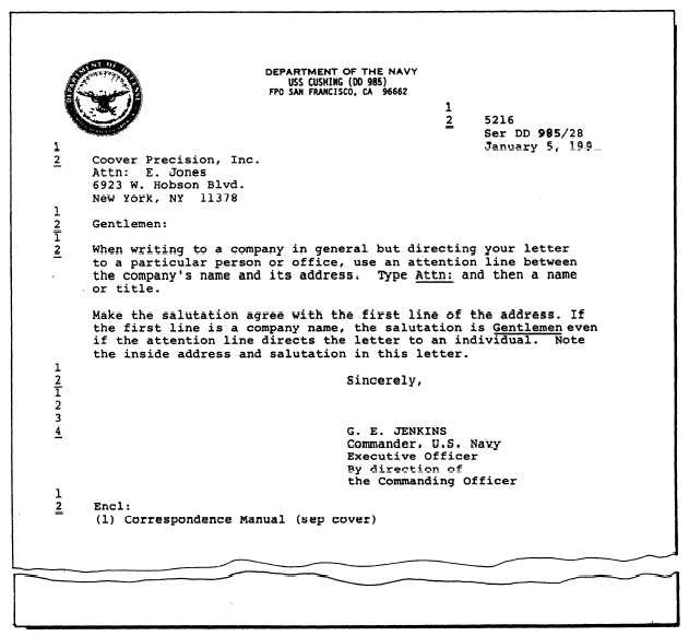 16.2 appointment letter template  Standard Naval Letter - 16