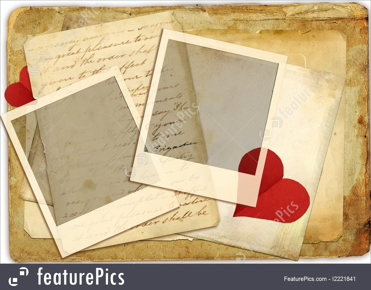 3 letter templates free  Templates: Romantic Letters - Stock Photo I2221841 at ..