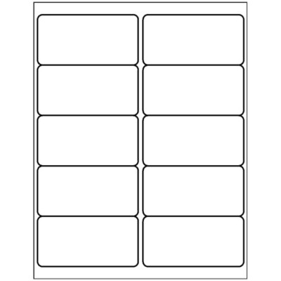 avery luggage tag template  Templates - Shipping Label, 10 per sheet | Avery - avery luggage tag template