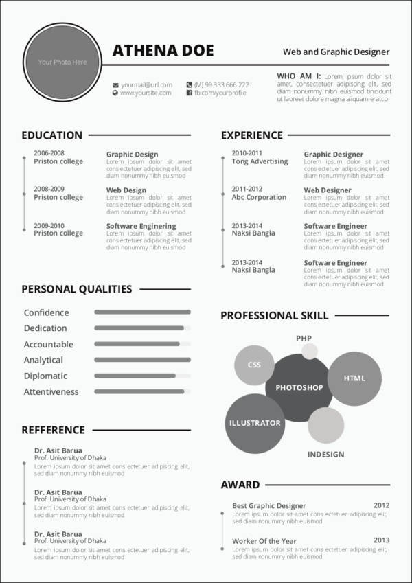 resume template basic  Top 20 Resume Tips That Will Help You Get Hired—with ..