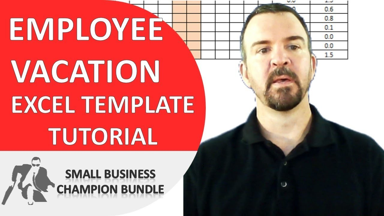 team vacation calendar template  Vacation Planner Excel Template - Employee Vacations - YouTube - team vacation calendar template