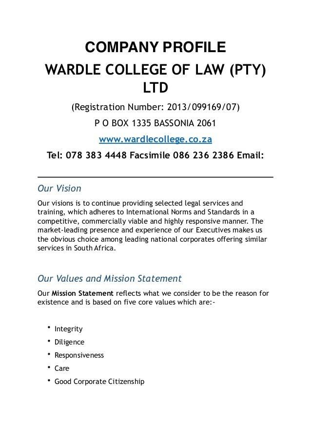letter q template  WARDLE COLLEGE OF LAW COMPANY PROFILE - letter q template
