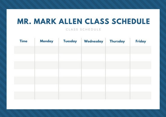 class schedule template tumblr  Yellow and Purple Preschool Class Schedule - Templates by ..