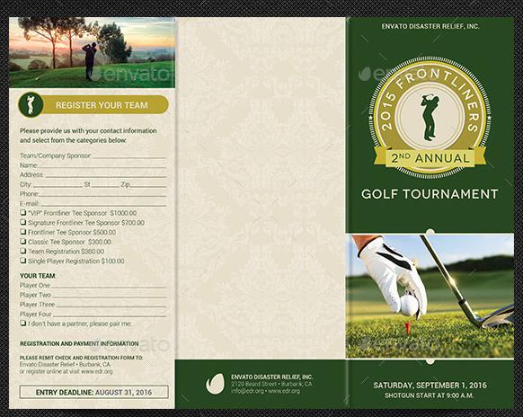 schedule template pdf  Zehn populäre Golf Broschüre Vorlagen zum Download - schedule template pdf