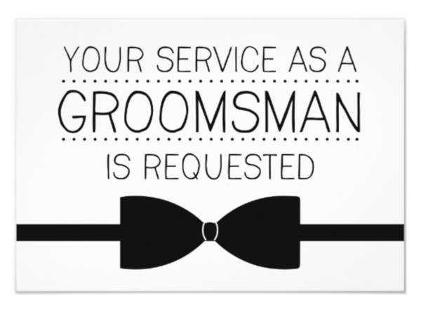 groomsmen proposal template  15+ Groomsmen Invitation Card Templates - PSD, AI   Free ..